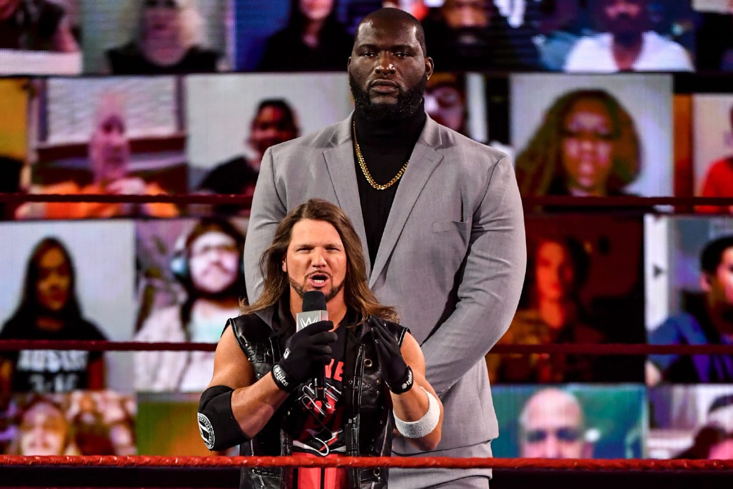 AJ Styles' Bodyguard Jordan Omogbehin, Retribution Is Done, More WWE Raw  Fallout | Bleacher Report | Latest News, Videos and Highlights