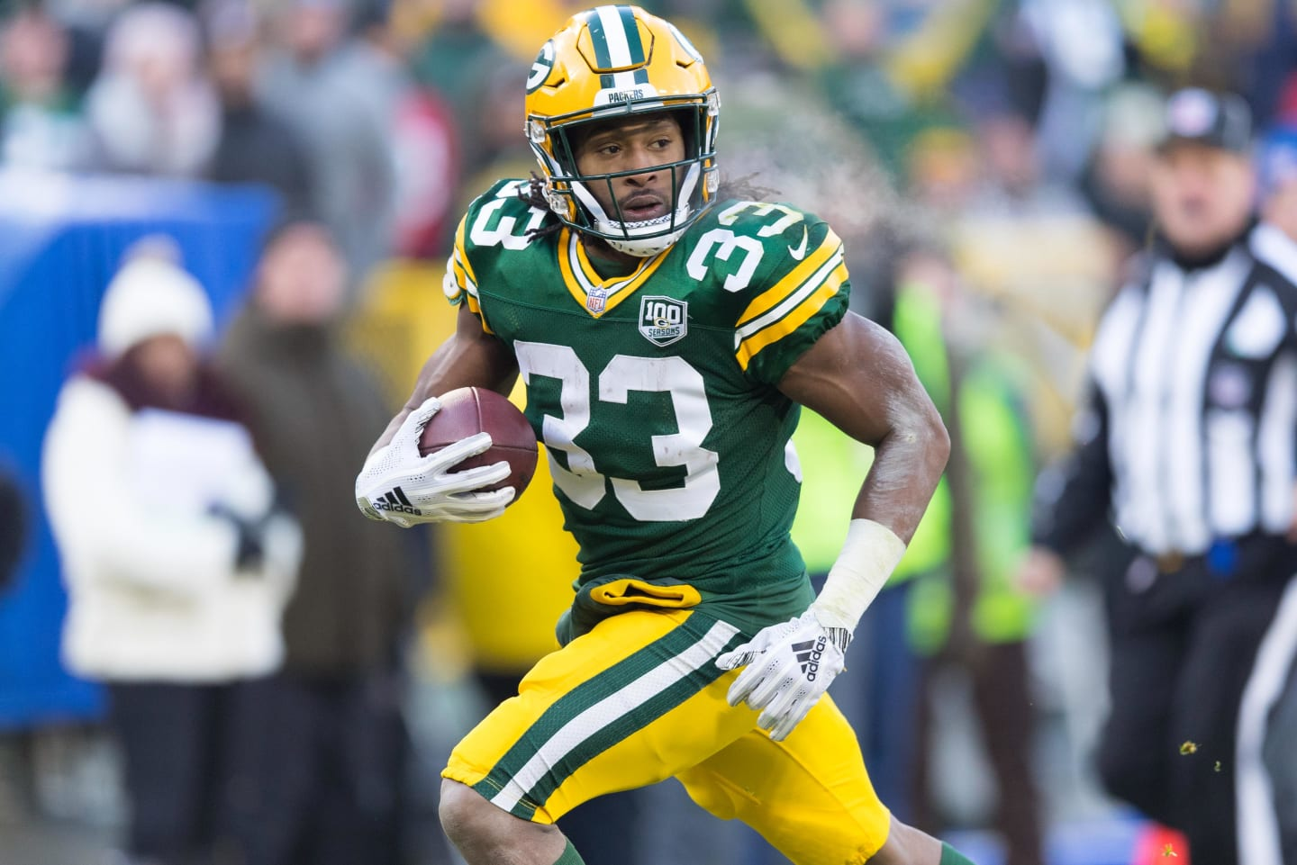 Packers Place Aaron Jones On Ir With Knee Injury Sign Wr Allen Lazard Bleacher Report Latest News Videos And Highlights