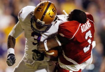 LSU Vs Arkansas Top Moments In The History Of Battle For The Golden Boot Bleacher Report Latest News Videos And Highlights