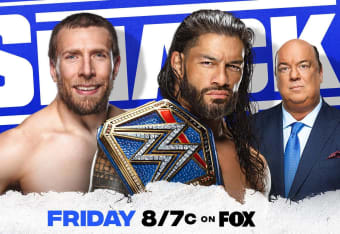 SMACKDOWN LIVE WWE Smackdown Ring 35 cm mehrf sort.