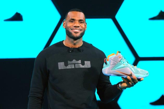 LeBron James Tops NBA Shoe Sales at