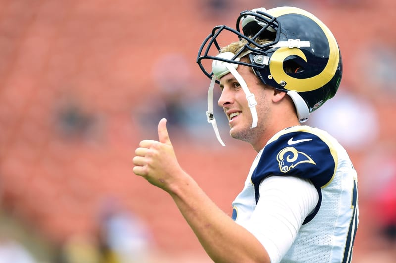 Is Jared Goff Tough Enough To Be The King Of Hollywood Bleacher Report Latest News Videos And Highlights