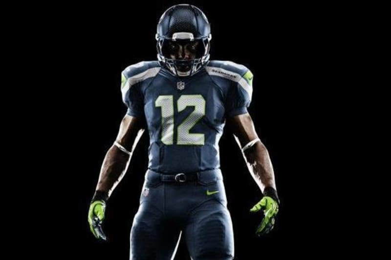 Seahawks New Uniforms Seattle S Nike Jerseys Represent Future Of Nfl Unis Bleacher Report Latest News Videos And Highlights