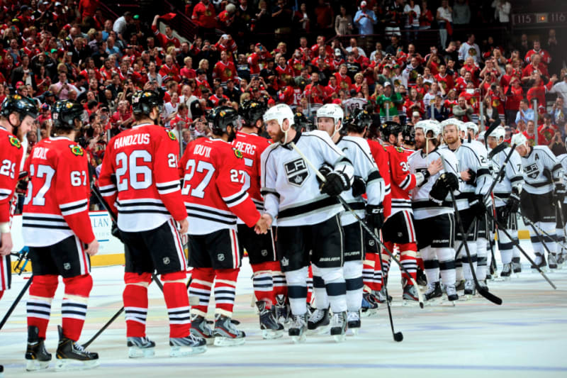 A Winning Tradition What The Post Series Handshake Line Means To Hockey Bleacher Report Latest News Videos And Highlights