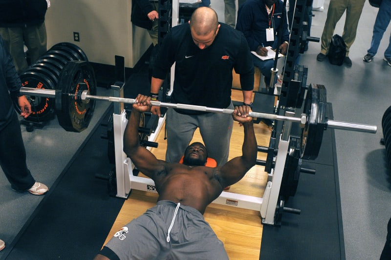 College Football Weightlifting Stats Compared To Average Gym Guy Bleacher Report Latest News Videos And Highlights