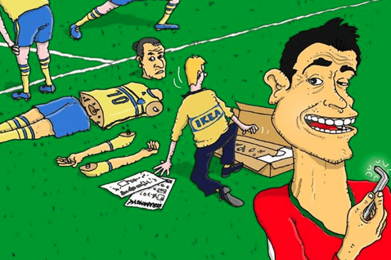 Cristiano Ronaldo Cartoons Go Viral After World Cup Hat Trick For Portugal Bleacher Report Latest News Videos And Highlights