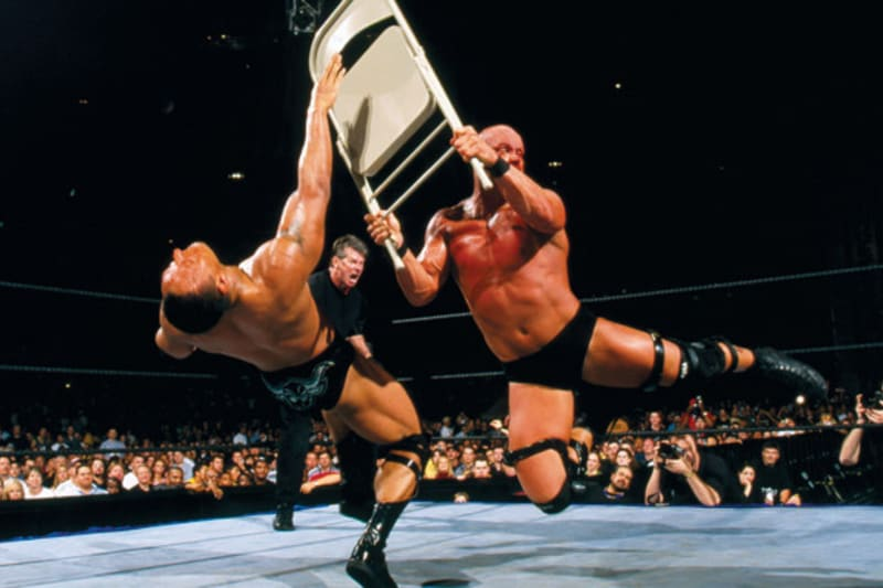 Wwe Classic Of The Week Steve Austin Vs The Rock Wrestlemania X Seven Bleacher Report Latest News Videos And Highlights