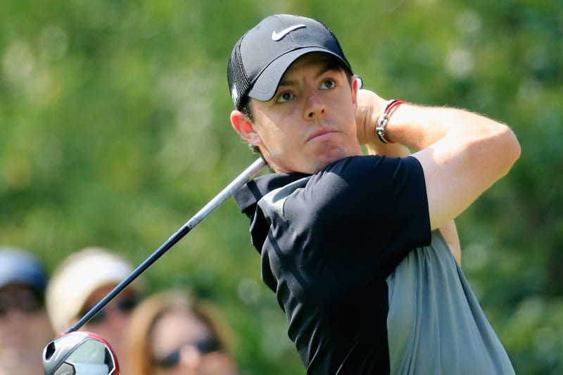 Rory Mcilroy Almost Hits Adam Scott With Wild Shot Bleacher Report Latest News Videos And Highlights