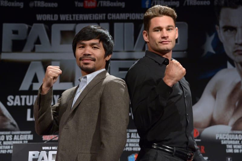 Pacquiao vs algieri betting odds types of horse betting explained in spanish