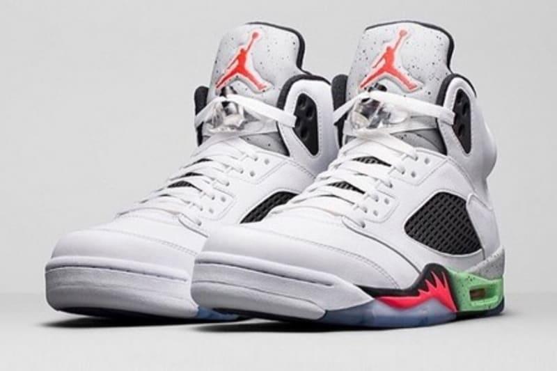 Nike Air Jordan 5 Retro 'Poison Green