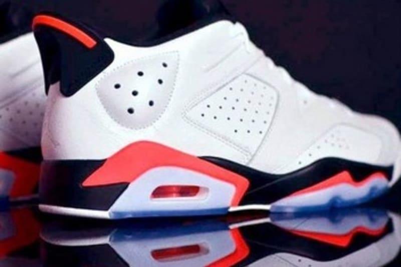 Nike Air Jordan 6 Low Retro 'Infrared