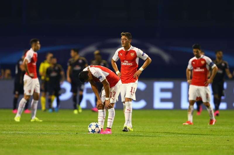 Dinamo Zagreb Vs Arsenal Live Score Highlights From Champions League Bleacher Report Latest News Videos And Highlights