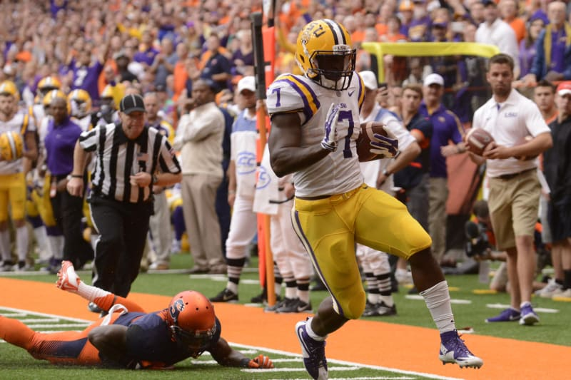 Leonard Fournette Vs Syracuse Stats Highlights And Reaction Bleacher Report Latest News Videos And Highlights