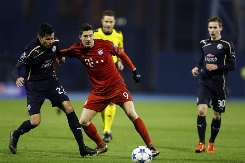 Dinamo Zagreb Vs Bayern Munich Score And Reaction From 2015 Champions League Bleacher Report Latest News Videos And Highlights