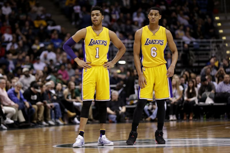 Lakers Jordan Clarkson Creates Swag Bros Nickname For Him And D Angelo Russell Bleacher Report Latest News Videos And Highlights