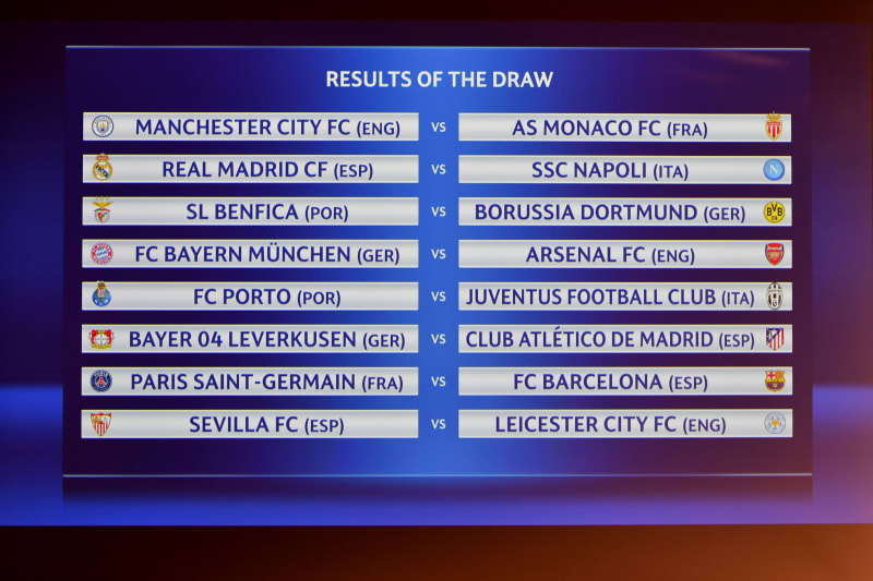 The Best Uefa Champions League Fixtures Today - Tronton Viral