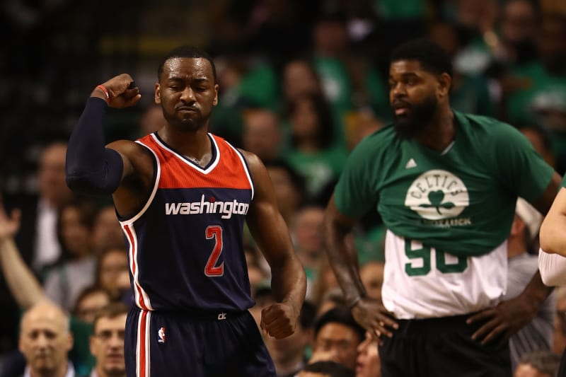 John Wall Says He Is The Best 2 Way Point Guard In Nba Bleacher Report Latest News Videos And Highlights