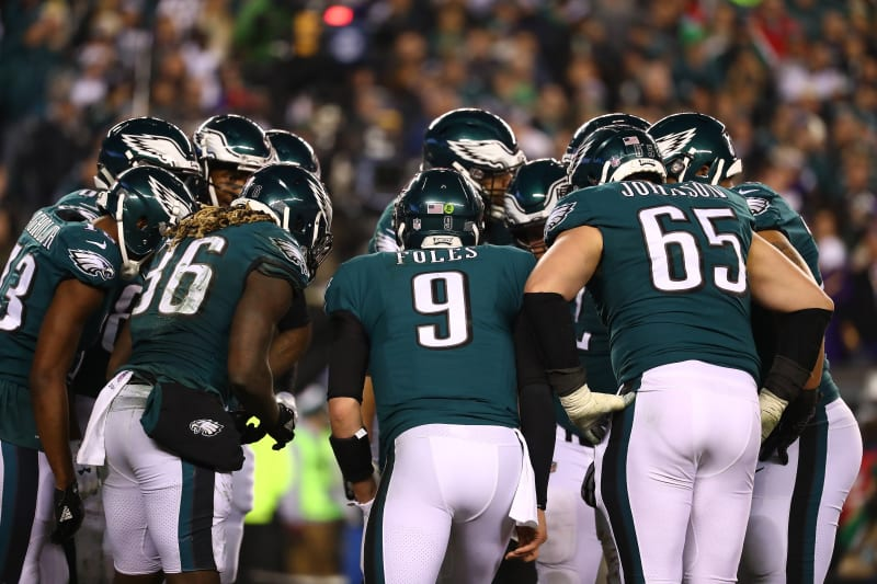 What would a 2 million dollar bet on the eagles yield if they win props betting