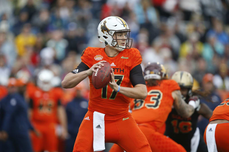 Josh Allen Combine Coach Ryan Flaherty Says Wyoming Qb Can Throw Ball 90 Yards Bleacher Report Latest News Videos And Highlights