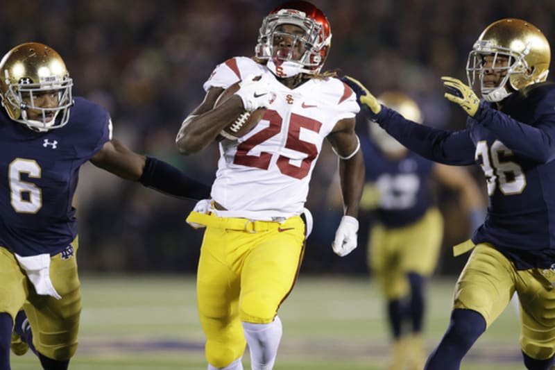Why Usc S Ronald Jones Could Be The Best Playmaking Rb In The 2018 Draft Bleacher Report Latest News Videos And Highlights