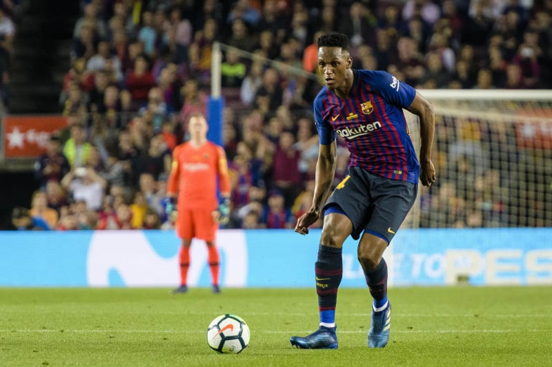 Manchester United Reportedly Target 35m Deal For Barcelona S Yerry Mina Bleacher Report Latest News Videos And Highlights