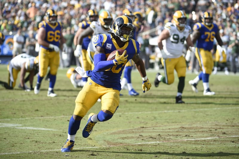 Todd Gurley Rams Survive Aaron Rodgers Packers As Jared Goff Throws 3 Tds Bleacher Report Latest News Videos And Highlights