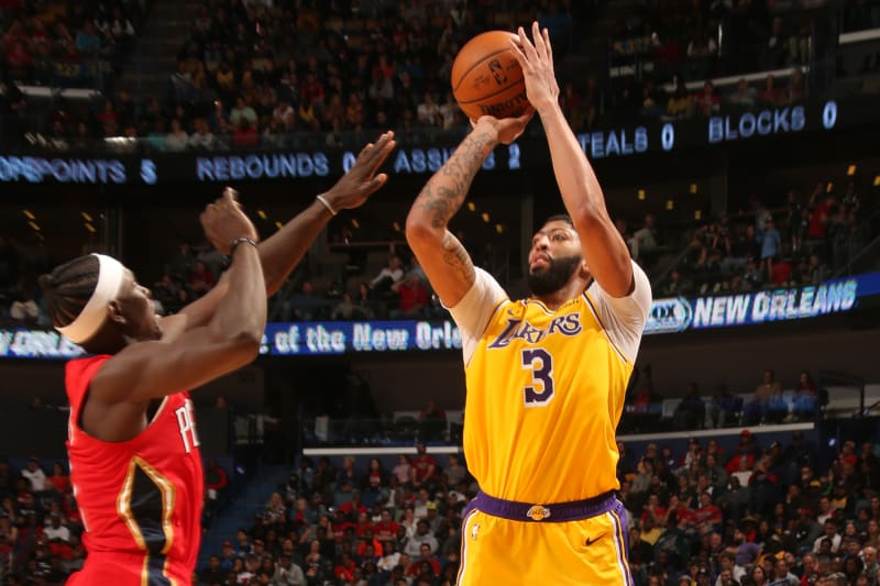 Anthony Davis Dominance Powers Lakers Past Pelicans In Return To New Orleans Bleacher Report Latest News Videos And Highlights
