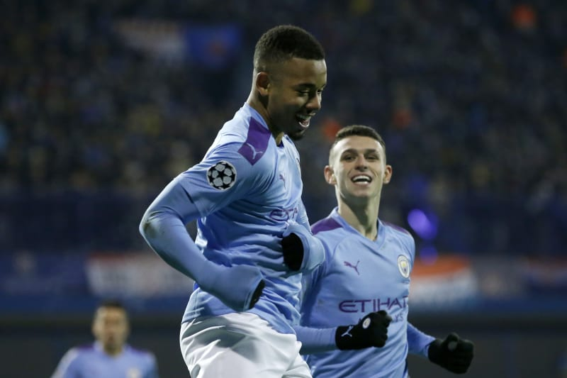Gabriel Jesus Manchester City Beat Dinamo Zagreb 4 1 In Champions League Bleacher Report Latest News Videos And Highlights