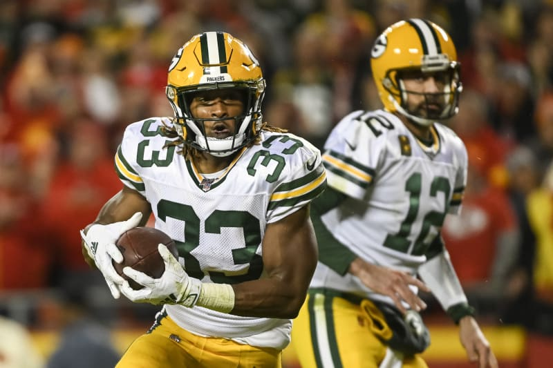 Aaron Jones Not Aaron Rodgers Is Driving The Packers Offense Bleacher Report Latest News Videos And Highlights