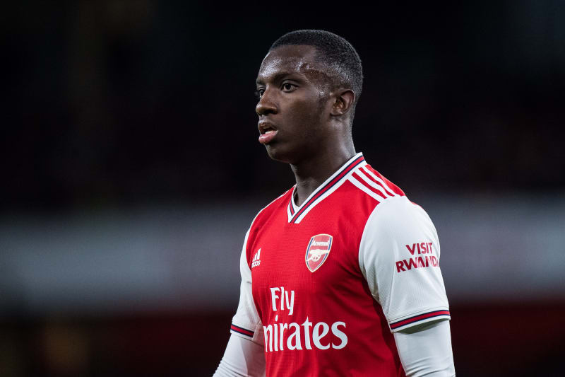 Eddie Nketiah Says Lacazette, Aubameyang 'Always' Looking to Help Him at  Arsenal | Bleacher Report | Latest News, Videos and Highlights