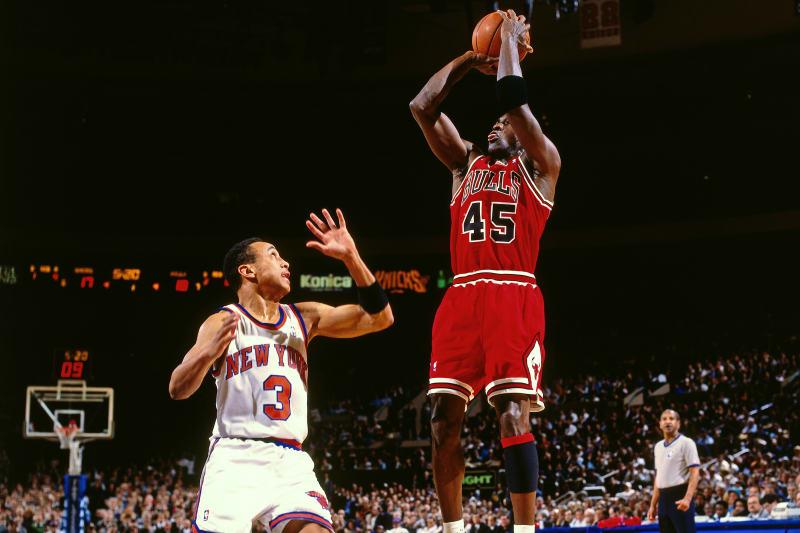 The Reason Michael Jordan Wore No. 45