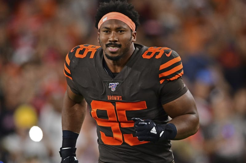 Myles Garrett, Browns Reportedly Nearing 5-Year, $125M Contract Extension | Bleacher Report | Latest News, Videos and Highlights