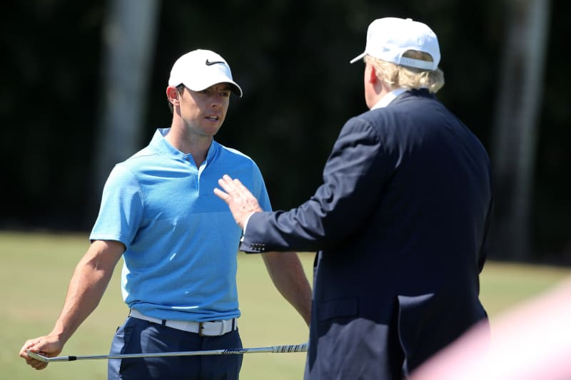 Rory Mcilroy Wouldn T Golf With Donald Trump Again Slams Handling Of Covid 19 Bleacher Report Latest News Videos And Highlights
