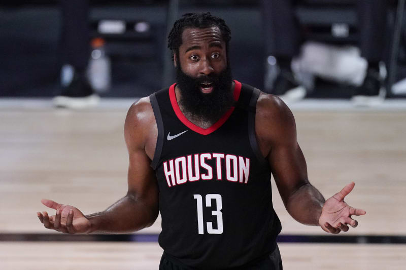 James Harden On Rockets Trade Rumors I M Just Focused On Being Here Bleacher Report Latest News Videos And Highlights