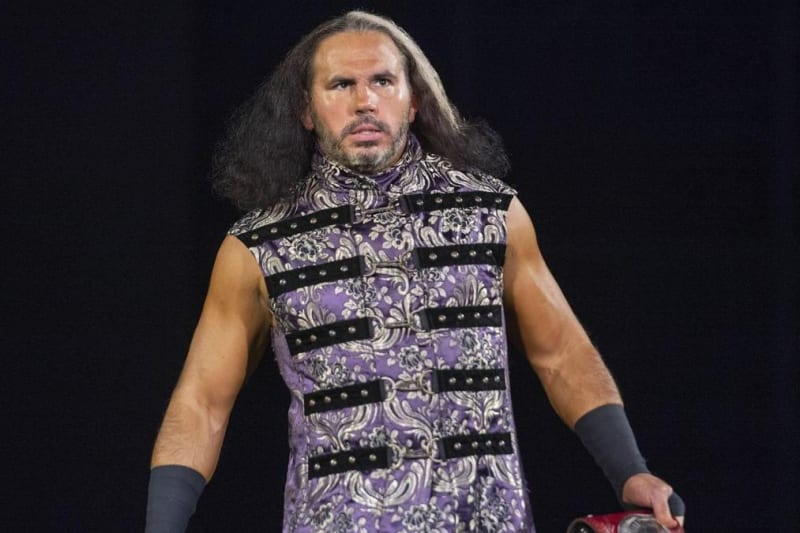 AEW's Matt Hardy Tweets Photo After Car Crash: 'Thank Goodness I'm Invincible'