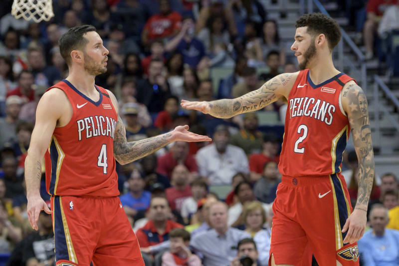 Lonzo Ball Trade Rumors: Pelicans Open to Discussing Deals for PG, JJ  Redick   Bleacher Report   Latest News, Videos and Highlights