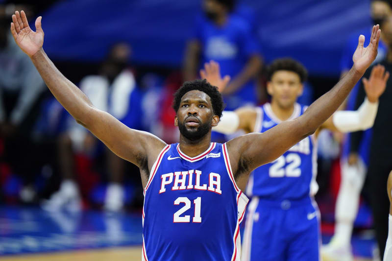 Joel Embiid S Career High 50 Points Power 76ers Past Zach Lavine Bulls Bleacher Report Latest News Videos And Highlights