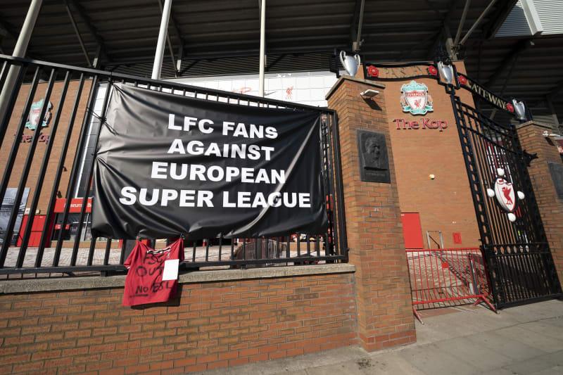A banner is seen outside <a class=