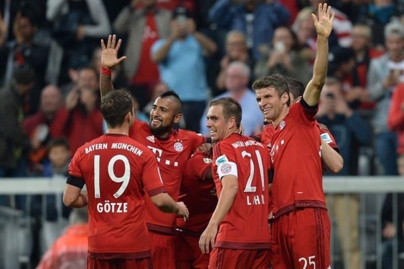 Bayern Munich Vs Wolfsburg 5-1 Full Match - On Fire Reds ...