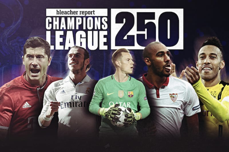 uefa champions league 250 ranking the top 250 footballers after matchday 4 bleacher report latest news videos and highlights uefa champions league 250 ranking the