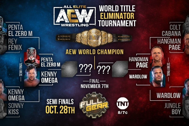 The AEW World Title Eliminator Tournament continues this week