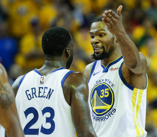Kevin Durant, Draymond Green Discuss 2018 On-Court Argument, Recruitment to Warriors thumbnail