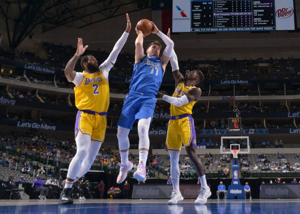 Business news  news latest news  business updates Luka Doncic Leads Mavs Past Lakers in Anthony Davis' Return from Calf Injury thumbnail