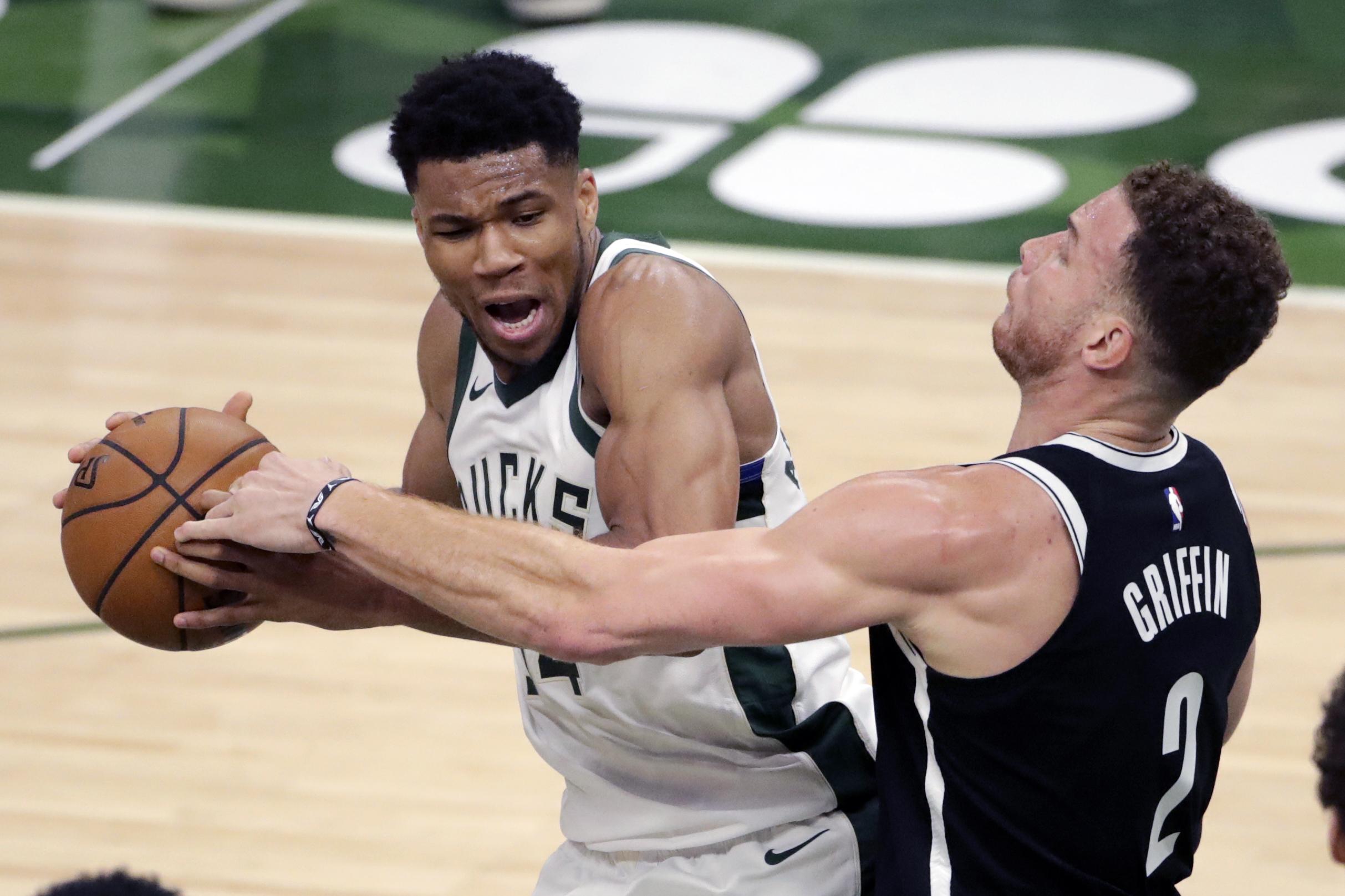 Giannis, Bucks Beat Kyrie Irving, Kevin Durant, Nets to Take Season Series thumbnail