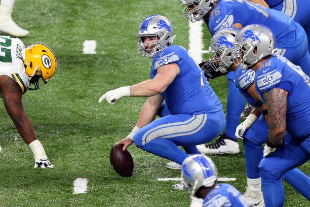 Report: Frank Ragnow, Lions Agree about $70M Contract; Is NFL's Highest-Paid Center thumbnail