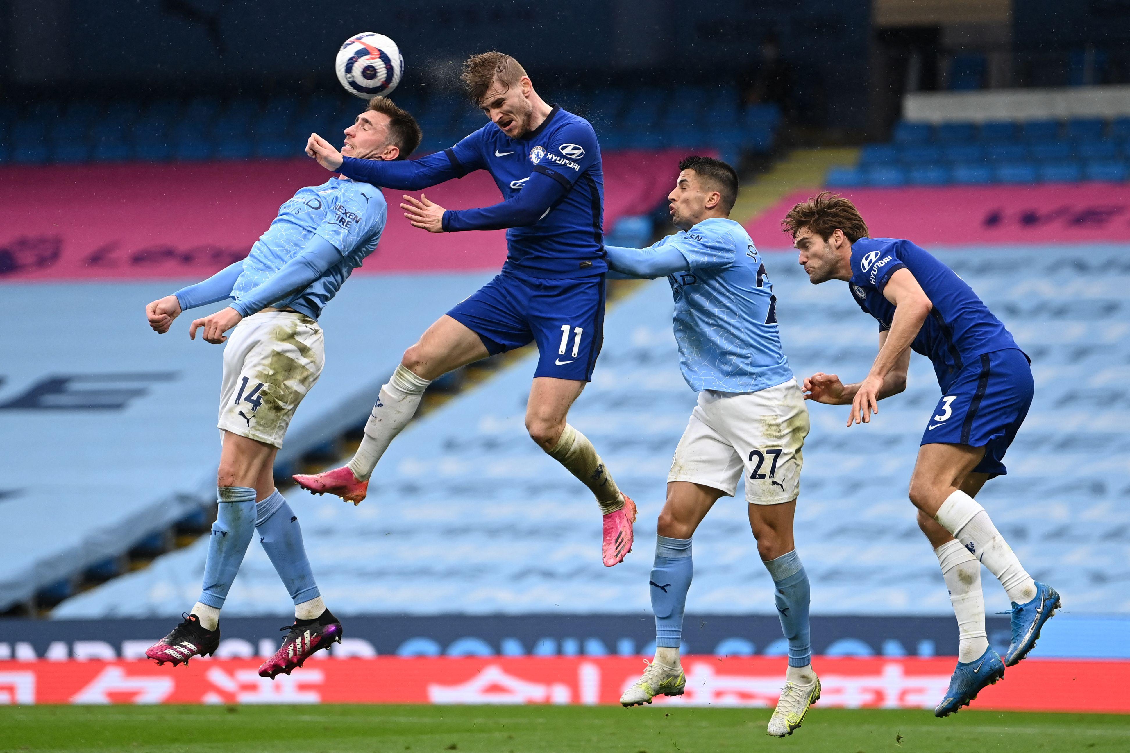 Manchester City vs. Chelsea 2021 Champions League Final ...