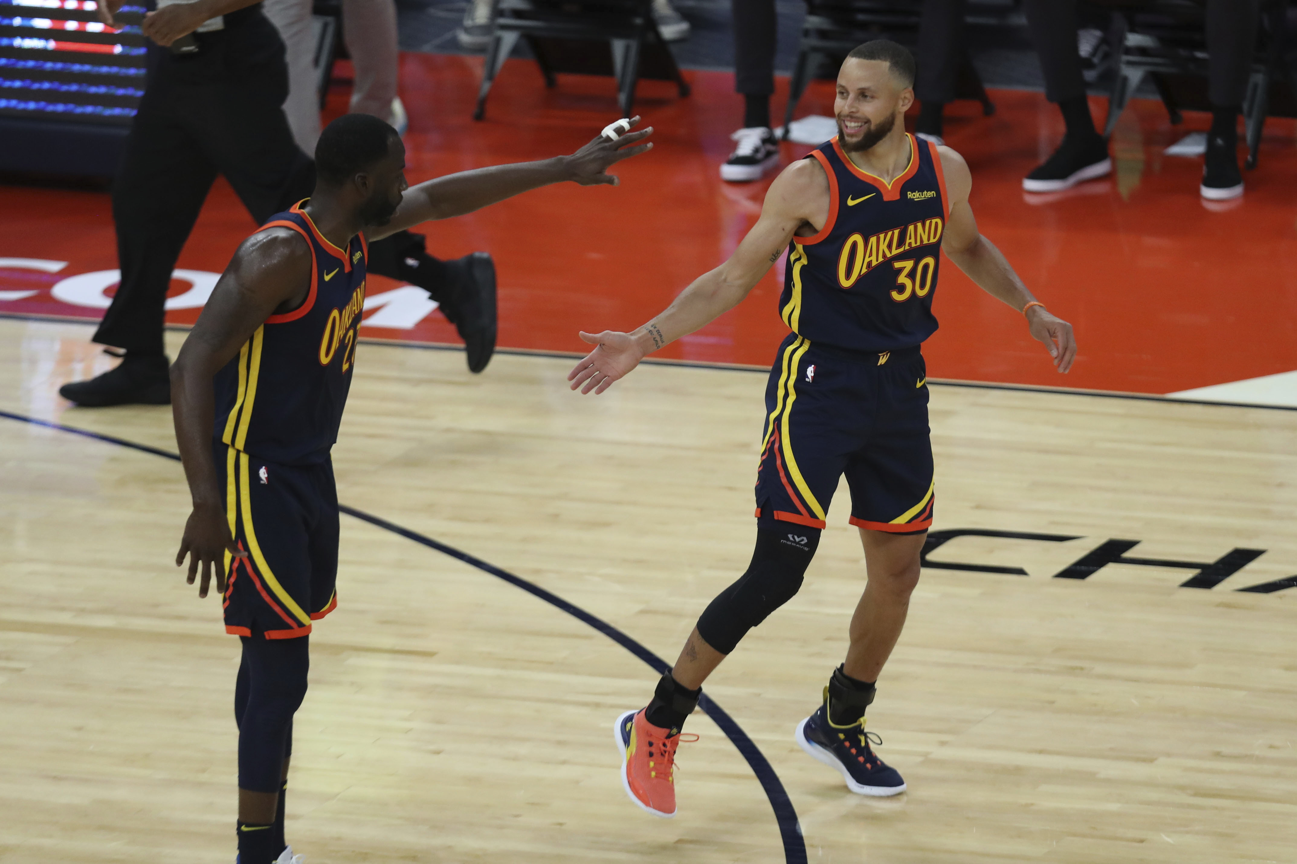 Warriors' Draymond Green: Steph Curry and I 'Got a Lot More Hell to Cause'