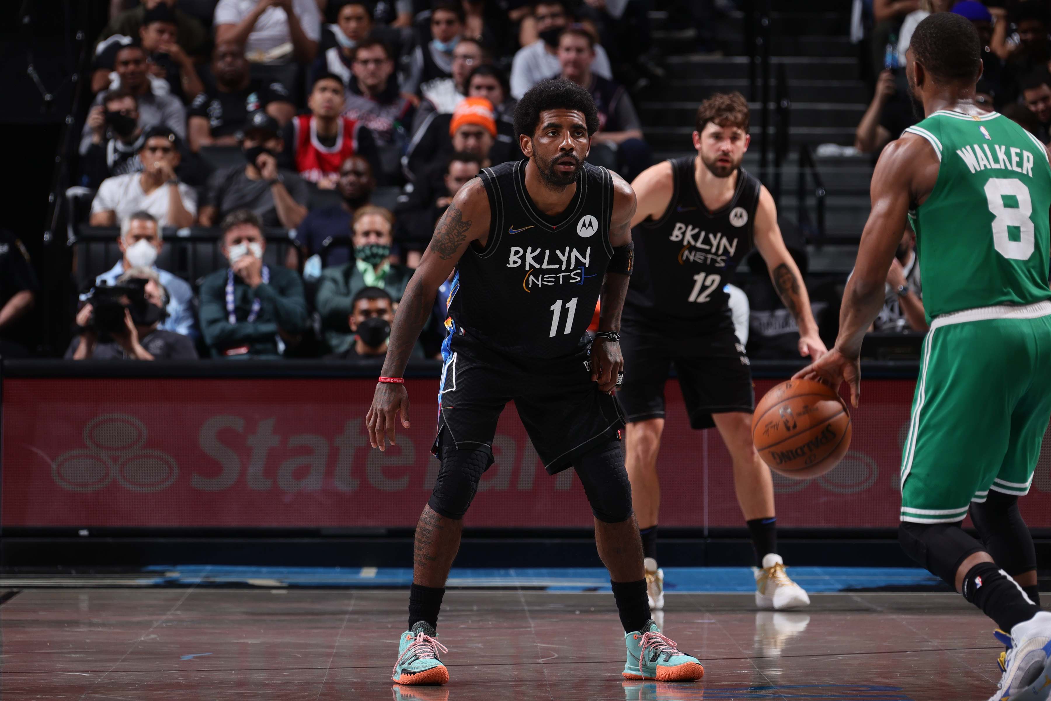 <p>Nets' Kyrie Irving Hopes There's No'Subtle Racism' at Boston for Game 3 vs. Celtics thumbnail