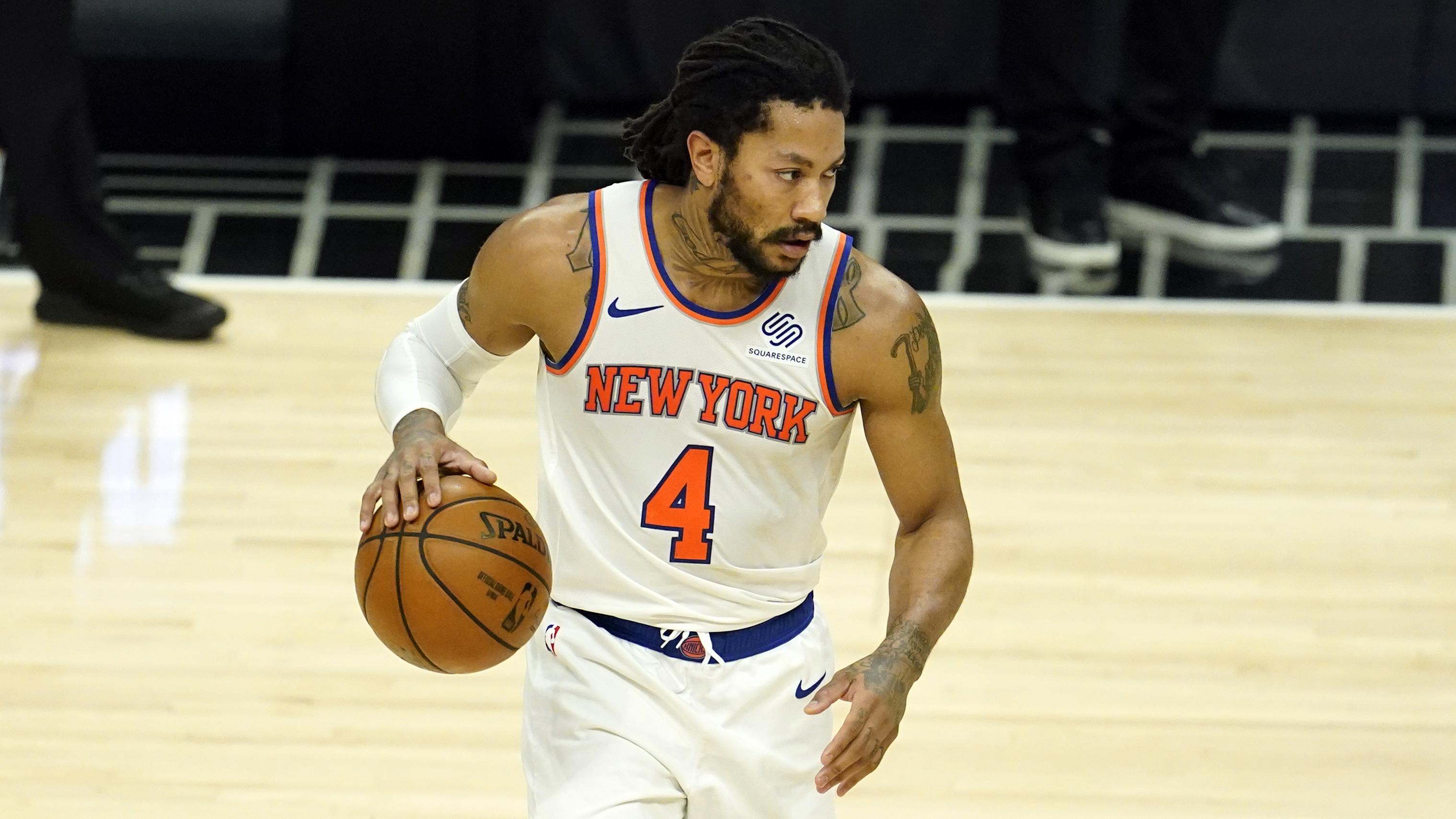 Knicks Rumors: Derrick Rose Expected to Impact NY's Free-Agency Plans at PG thumbnail