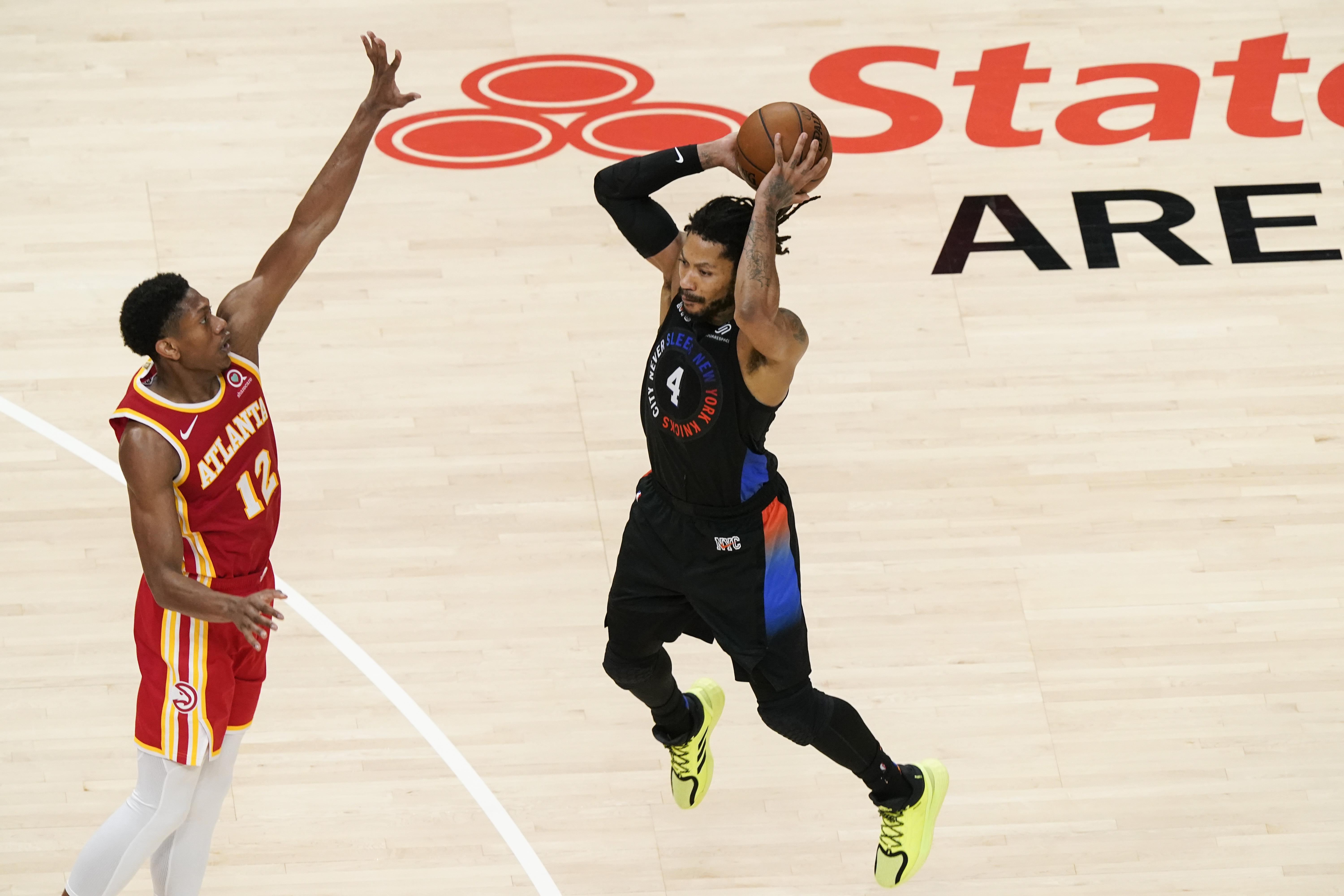 <p>Derrick Rose: Knicks Need to Find'Sense of Urgency' When Offense Isn't Clicking thumbnail